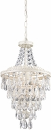 Sterling 122-002 Antique White & Clear Foyer Lighting