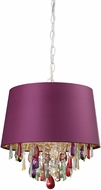Sterling 122-007 Modern Purple Pendant Lighting