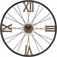 ELK Home 129-1088 Rock Lawn Rust & Bronze Iron Wall Clock
