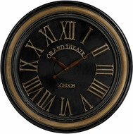 ELK Home 130-006 Grand Theatre Berkshire Large Clock With Distressed Hand painted Frame