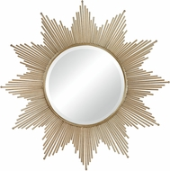ELK Home 132-011 Churchfield Contemporary Gold Leaf Wall Mirror