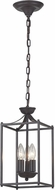 ELK Home 140-002 Arthur Aged Bronze Foyer Lighting
