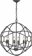 Sterling 140-005 Strathroy Contemporary Aged Bronze Pendant Lighting Fixture