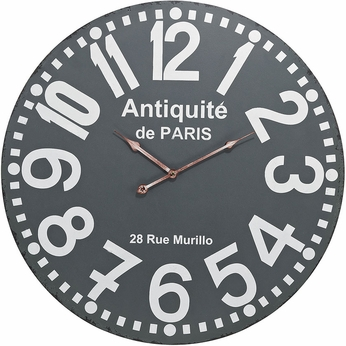 Sterling 171-009 Grey Antique Wall Clock
