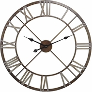 ELK Home 171-012 Bronze With Grey Open Center Iron Wall Clock