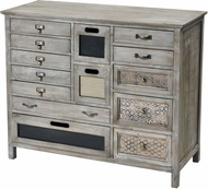 Sterling 3116-029 Topanga Retro Light Grey Wash Small Cabinet
