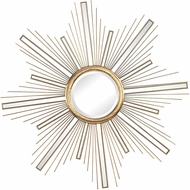 Sterling 3138-277 Belize Modern Gold Wall Mounted Mirror