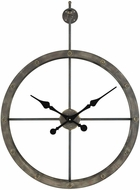 ELK Home 3138-400 D�p�che Wall Vintage Grey Iron Wall Clock
