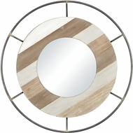 Sterling 3138-461 Sonora Contemporary Wood Tone Mirror