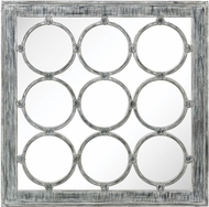 Sterling 3183-002 Maidstone Modern Black Ash / White Antique Mirror