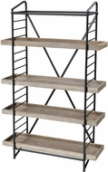 Sterling 3200-165 Six Corners Natural Wood Tone / Bronze Shelf