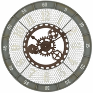 ELK Home 3205-004 Roadshow Vintage Greenpoint Grey Wall Clock