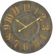 ELK Home 3205-005 Queensland Retro Govern Grey Wall Clock
