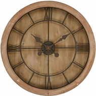 Sterling 3215-002 Boulder Springs Maple With Bronze Wall Clock