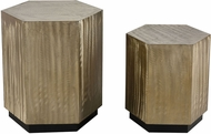 Sterling 326-8743-S2 Broodcomb Champagne Gold Accent Tables