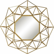 ELK Home 351-10178 Geometric Wire Gold Wall Mounted Mirror
