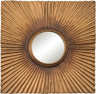 Sterling 351-10207 Terraced Gold Aged Gold Wall Mirror