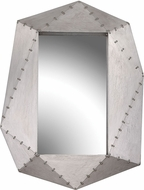 Sterling 351-10250 Hedron Contemporary German Silver Mirror