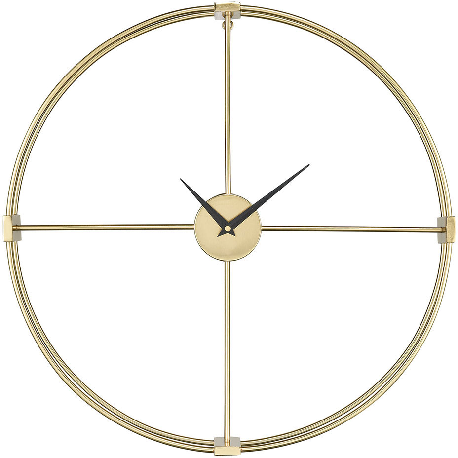 Sterling 351 10543 Centuriata Contemporary Gold Wall Clock Loading Zoom