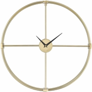 ELK Home 351-10543 Centuriata Contemporary Gold Wall Clock