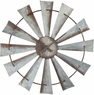 Sterling 351-10545 Gusto Contemporary Salvaged Iron Wall Clock