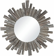 Sterling 351-10550 Roanoke Salvaged Grey Oak Wall Mounted Mirror