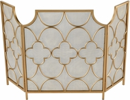 ELK Home 351-10565 Three Magi Gold Fireplace Screen