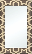 Sterling 351-10570 Habana Gold / Salvaged Brown Oak Small Wall Mirror