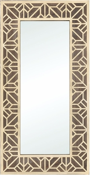 ELK Home 351-10571 Habana Gold / Salvaged Brown Oak Large Wall Mounted Mirror