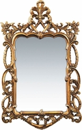 ELK Home 40-1704M Floral Scroll Gold Leaf Wall Mounted Mirror