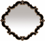 ELK Home 40-2630M Frederick Distressed Black & Antique Gold Wall Mounted Mirror