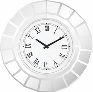 Sterling 5173-036 Bishopsgate Clear Wall Clock