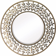 Sterling 55-211 Willow Brook Gold & Light Dust Wall Mirror