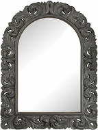 Sterling 6100-002 Arched Scroll Black Ash Wall Mounted Mirror