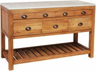 Sterling 7011-1578 Great Neck Weathered Oak Console