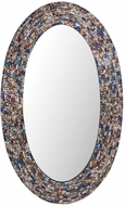 Sterling 8983-047 Byz�ntion Contemporary Shoreline Wall Mounted Mirror