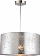 Sterling D2957 Tsar Modern Silver Hanging Pendant Lighting