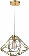 Sterling D2963 Paradigm Modern Gold Pendant Hanging Light