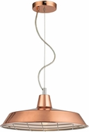 Sterling D2966 Ajax Modern Copper Hanging Light Fixture