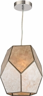 Sterling D2967 Therese Contemporary Natural Silver & Gold Drop Lighting