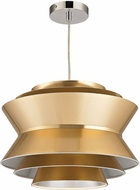 Sterling D2970 Godnik Modern Gold Drop Ceiling Lighting