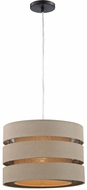 Sterling D3175 Sandbar Oatmeal, Cream Drum Pendant Light