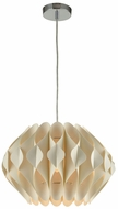 Sterling D3408 Kirigami Modern Off-White Hanging Light
