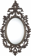 Sterling DM1995 Berkeley Distressed Bronze Patina & Dry Antique Dusting Wall Mounted Mirror
