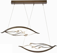Synchronicity 139798 Courb� Duet LED Kitchen Island Light Fixture