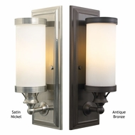 Tech 600BRGW Bridgeport 15 Inch Tall Transitional Style Wall Sconce Lighting