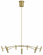 Tech 700ARL40R-LED930 Aerial Modern Aged Brass LED 40  Chandelier Lighting