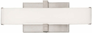 Tech 700BCELI12S-LED930 Ellis Modern Satin Nickel LED 12  Bathroom Light