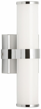 Tech 700BCLYK12C-LED930 Lynk Contemporary Chrome LED Wall Lighting Sconce