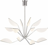 Tech 700BLT48N-LED930 Belterra Contemporary Polished Nickel LED 48  Chandelier Lamp